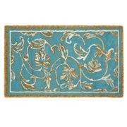 Abyss & Habidecor - Dynasty Bath Rug Blue Green 60x100cm