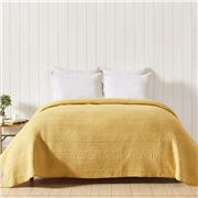 Private Collection - Channel Quilt Yellow Queen 225x240cm