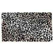 Abyss & Habidecor - Leopard Bath Rug Black 70x120cm