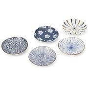 Concept Japan - Aizome Goyou Small Plate Set 10.5cm 5pce