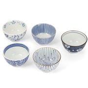 Concept Japan - Aizome Goyou Tea Cup Set 9cm 5pce