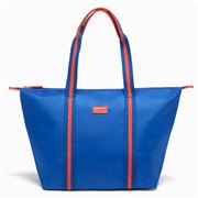 Lipault - Lady Plume Tote Bag Electric Blue & Flash Coral