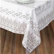 Rans - Belle Tablecloth 150x360cm Silver