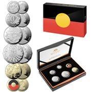 RA Mint - 2021 Proof Coin Set 50th Annv. Aboriginal Flag