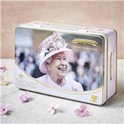 New English Teas - Queen Elizabeth II Tea Tin 72 Teabag Set