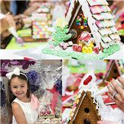 Peter's - Kids Gingerbread House Workshop Dec 19th 1.30pm