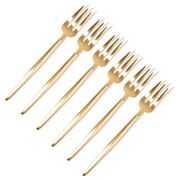 Cutipol - Moon Pastry Fork Gold Set 6pce