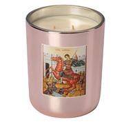 Candles By Eleni - St Dimetrios Caramel Cafe Rose Gold 500g