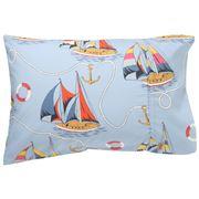 Kip & Co - Hey Sailor Cotton Single Pillowcase 1P Single