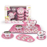 Champion - Pink Rose Tin Tea Set 15pce