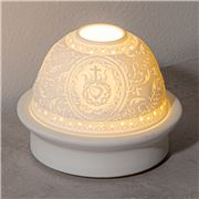 Candle Bar - White LED Porcelain Sacred Heart Light