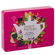 English Tea Shop - The Ultimate Tea Collection Pink Tin