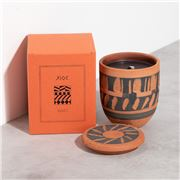 WAKS - Chios Candle Orange Blossom Scent Black