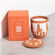 WAKS - Chios Candle Mandarin Scent White