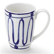 ThemisZ - The Kyma Mug Blue On White