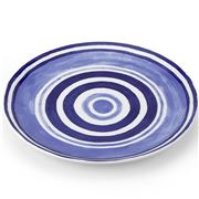 ThemisZ - The Maze Dinner Plate Blue 31cm