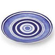 ThemisZ - The Maze Dessert Plate Blue 24cm