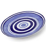 ThemisZ - The Maze Serving Platter Blue 36cm