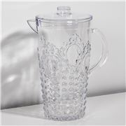 Flair Decor - Acrylic Pitcher Gemstone Clear