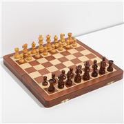 Italfama - Wooden Magnetic Chess+Checkers & Backgammon 30cm