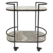 Cafe Lighting - Southside Marble Drinks Trolley