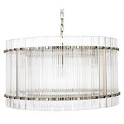 Cafe Lighting - Paloma Pendant Round Brass
