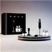 Smeg - 50's Hand Blender & Processor Accessory Set Black