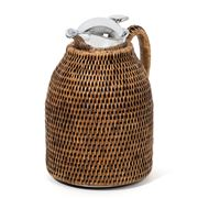 Luxe By Peter's - Rattan Thermos 1L