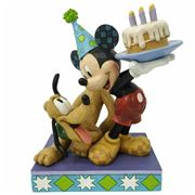 Disney - Jim Shore Pluto's 90th Anniversary with Mickey