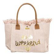 Marlafiji - Gidget Pink Beach Bag