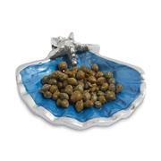 Julia Knight - Scallop Starfish Deep Bowl Azure 10cm
