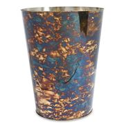 Julia Knight - Cascade Waste Basket Rainbow Bronze 27cm