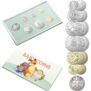 RA Mint - Baby Coins 2021 Uncirculated Year Set 7pce