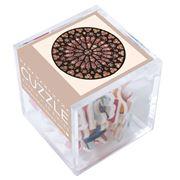 Puzzle Michèle Wilson - Rosace Notre Dame