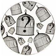 Rory Dobner - Birdcage Plate-3 Medium 21cm