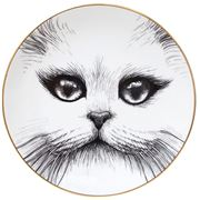 Rory Dobner - Cat No Monocle Plate Medium 21cm