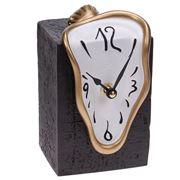 Antartidee - Gold White Figueras Table Clock