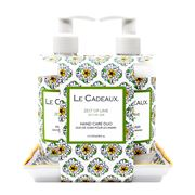 Le Cadeaux - Zest Of Lime Hand Cream & Hand Wash Set 3pce