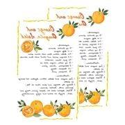 Le Cadeaux - Fleur D'Orange Kitchen Soap & Tea Towel Set 2pc