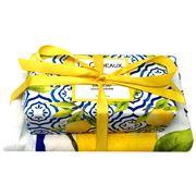 Le Cadeaux - Sicilian Lemon Kitchen Soap & Tea Towel Set 2pc