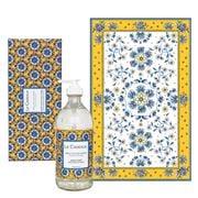 Le Cadeaux - Sicilian Lemon Tea Towel & Hand Soap Gift Set