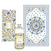 Le Cadeaux - Rosemary Mint Tea Towel & Hand Soap Gift Set