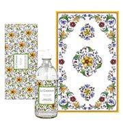 Le Cadeaux - Zest Of Lime Tea Towel & Hand Soap Gift Set