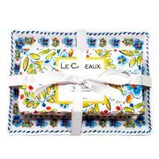 Le Cadeaux - Rosemary Mint Soap Dish & Bar Soap Gift Set
