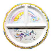 Baby Cie - Realise Your Dreams Unicorn Section Plate
