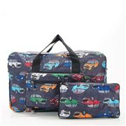 Eco-Chic - Lightweight Foldable Bag Mini Cooper Holdall Grey
