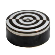 Luxe By Peter's - Round Box Black 17cm