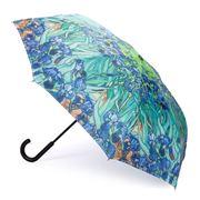 Galleria - Reverse Close Umbrella Van Gogh Irises