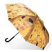 Galleria - Reverse Close Umbrella Gustav Klimt The Kiss