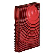 Guzzini - Flat Pack Water Bottle Ripples Red